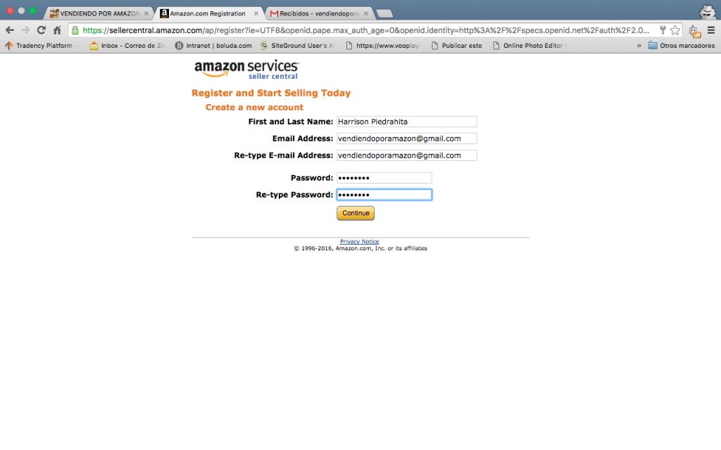 cuenta vendedor amazon desactivar codigo verificacion