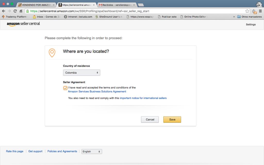 Amazon prime me pide que introduzca un codigo