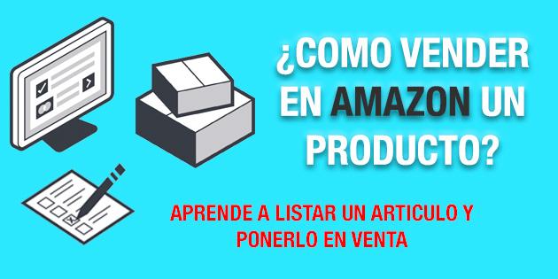 Cómo Vender en Amazon un Producto?