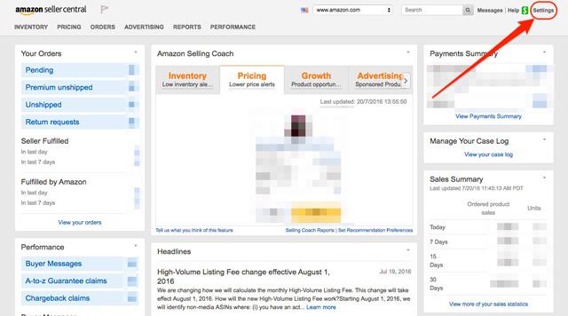 Entrar-en-settings-amazon